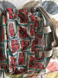 Cath Kidston baby bag with accessories