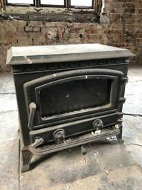 Log Burner / Multi Fuel Cast Iron Stove - Very Heavy