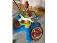 Vtech sit to stand toy with dancing monkey