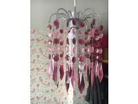 3 Droplet chandeliers