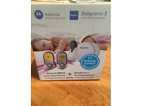 Motorola baby monitor and breathing and movement monitor
