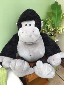 Giant soft toy gorilla