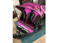 Out and about v3 double pushchair