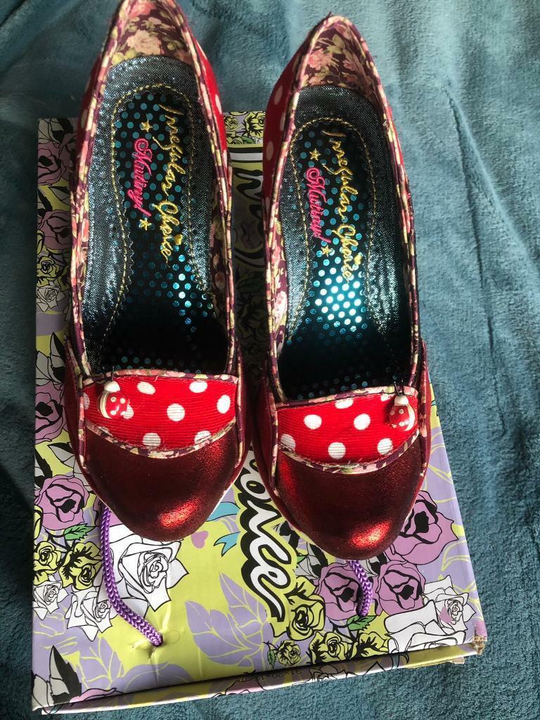 4d9968006c3 Irregular Choice Future Ladybug red heels, UK3/EU36 | in Blyth,  Northumberland | Gumtree