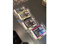 Epson cartridges T1281/2/3/4