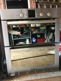 Bosch Built In Undercounter Double Oven