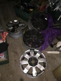 Renault Clio sport alloys x 4 and centre caps