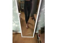 Topshop UK 8 high waisted leggings £15