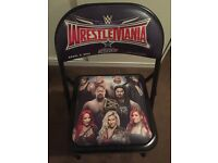 WWE WRESTLEMANIA 32 Steel Chair