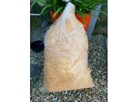 Wood wool 4kg bag. 2 available
