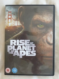 RISE OF THE PLANET OF THE APES DVD