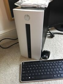 HP PAVILION 57 desktop pc and Philips monitor