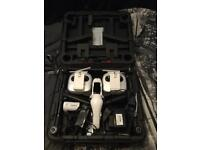 DJI inspire 1 drone with spare parts
