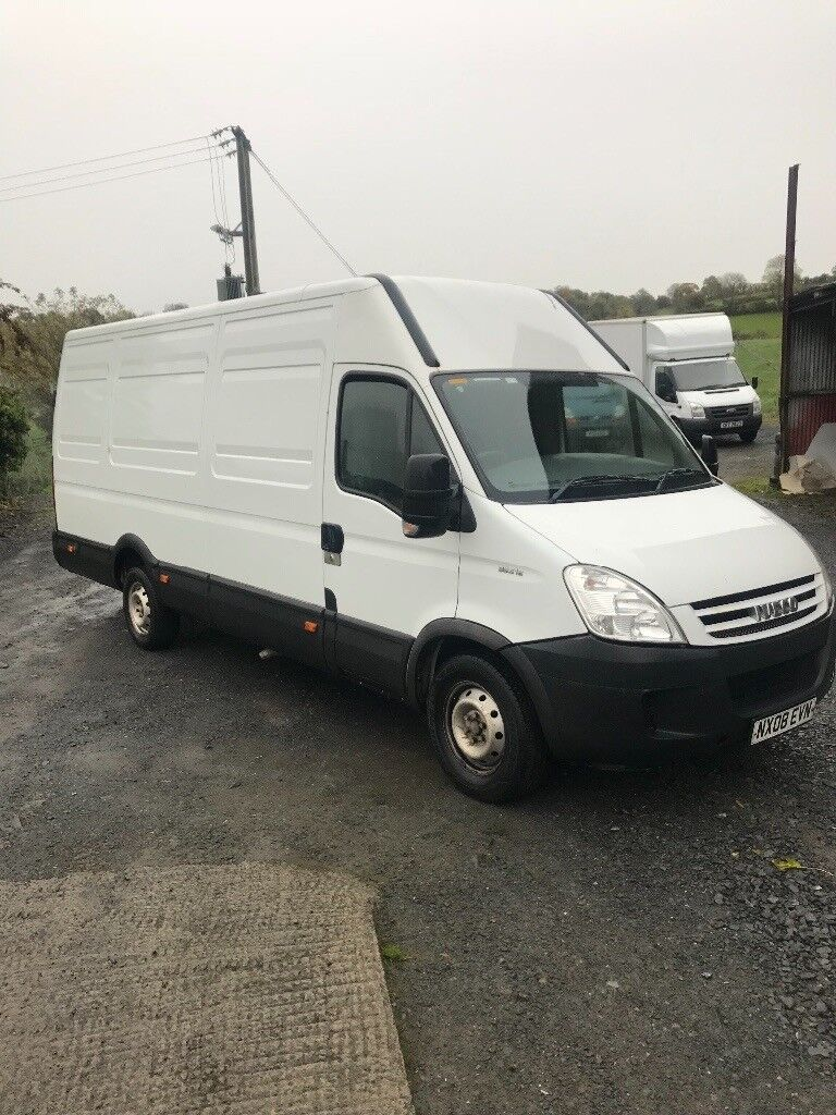 2008 iveco daily full Psv loads off new parts Lwb h/roof take small px