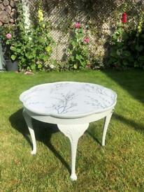 A lovely vintage occasional table