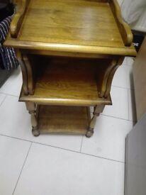 Oldmill solid oak writing bureau