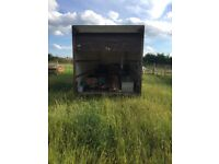 27ft lorry body container