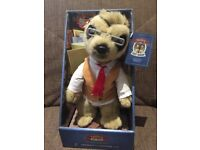 Selection of meerkats soft toys