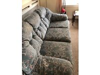 Free sofa , excellent condition, very comfy, must pick up today.