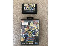 Sega Mega Drive Game Captain America