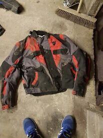 Buffalo motorcyle jacket