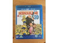 Despicable me blu -ray and 3D DVD brand new and sealed