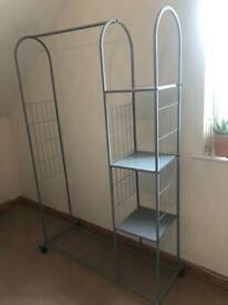 Wardrobe open/railings