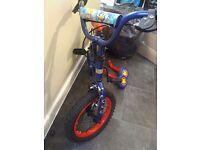 """boys 12"""" sonic bike"""