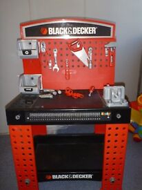 black and decker childrens work table