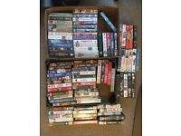 Job Lot VHS Video Tapes