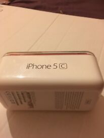 PINK APPLE IPHONE 5C 16 GB WITH BOX