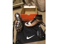 Nike Hypervenom Phantom SG-PRO ll sock football boots size 7