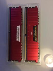 Corsair vengeance 2x4gb DDR4 4000mhz