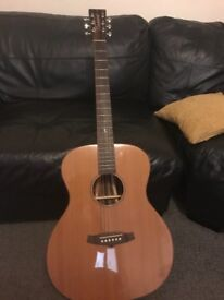 Acoustic guitar tanglewood java
