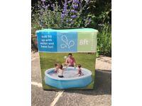 8ft Childrens paddling pool
