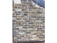 Mixed London Stock reclaimed bricks