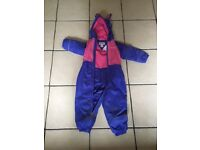 Girls Regatta all in one waterproof 24-36 months