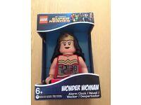 LEGO Wonder Woman Minifigure Alarm Clock