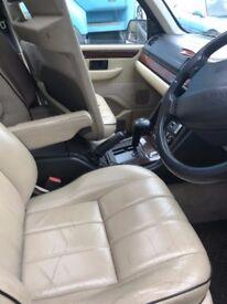Range Rover P38 Cream Leather Interior.