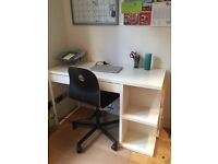 IKEA desk and chair for sale