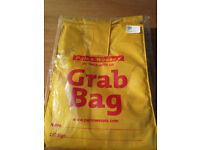Yacht boat Grab Bag: for survival gear storage. New in unopened packet.