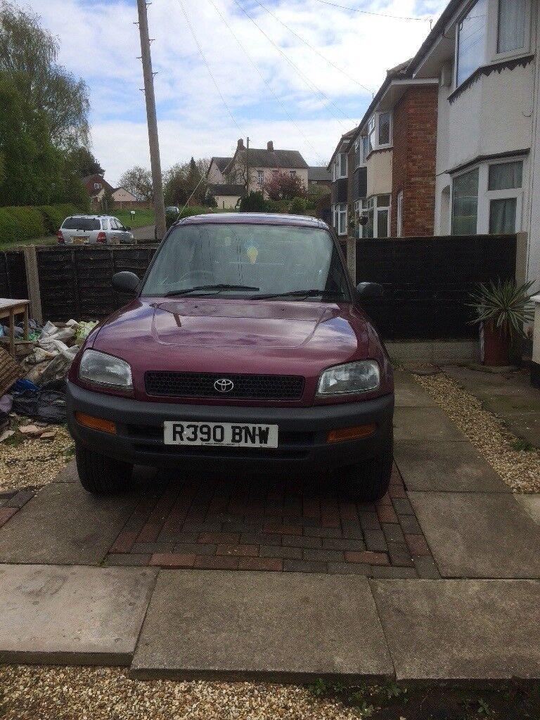 Rav 4 purple 3 door