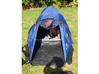 Trespass 2 man dome tent and folding chair package