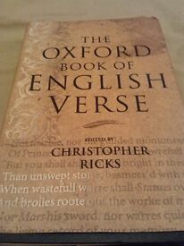 The Oxford Book of English Verse Hardcover – 7 Oct 1999 by Christopher Ricks (Editor)