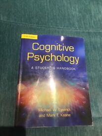 Cognitive psychology- A students handbook fifth edition
