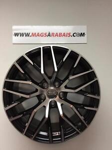 MAGS 19 pouces AUDI NEUFS + pneus *ÉTÉ* 3 SUCCUSALES : QUÉBEC / LAVAL / MIRABEL
