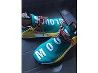 Adidas x Pharrell Williams HU NMD TRAIL SUN GLOW Uk7