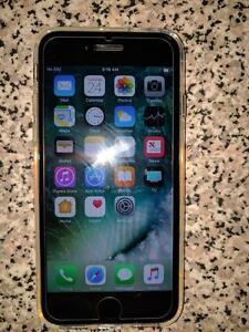 Matt Black Iphone 7 128 GB Bell/Virgin