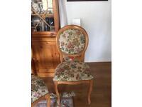 Scar top chair