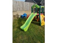Little Tikes Double Decker Climbing frame and 2 slides